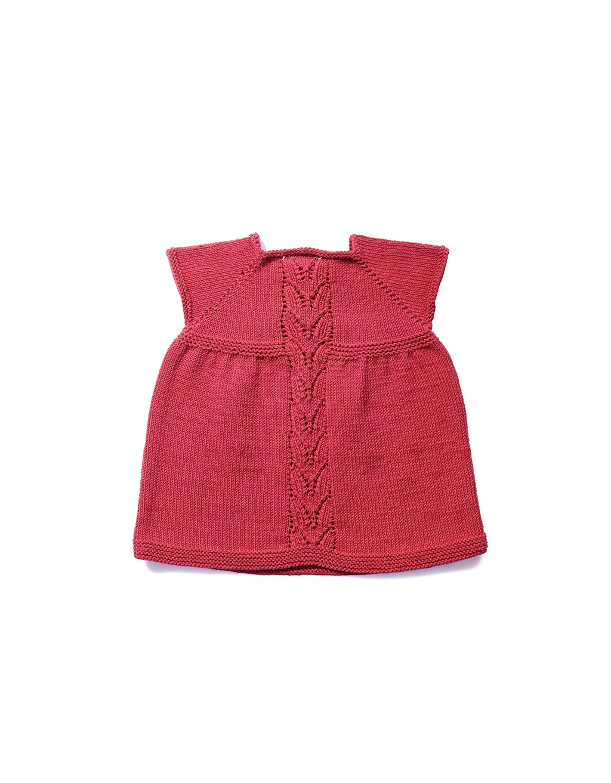 Patara hand knitted organic dress